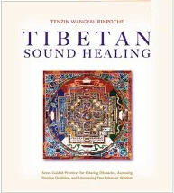 Tibetan Sound Healing, a book and CD (set) by Tenzin Wangyal, Rimpoche on how to use the five sacred syllables for healing.