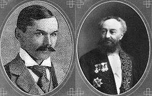 Frederik can Eeden and marquis d'Hervey de Sai...