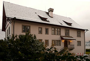 C. G. Jung institute in Küsnacht, Switzerland....